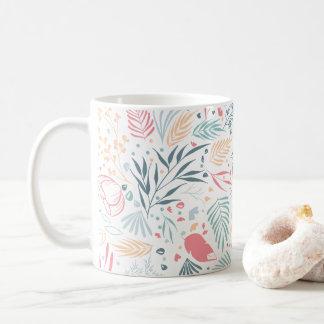 Botanisches Muster Kaffeetasse