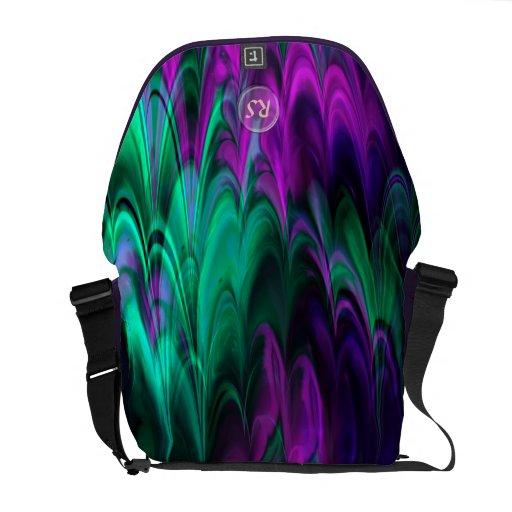 Bote-Tasche des Fraktal-Marmor-4-2 Kuriertaschen
