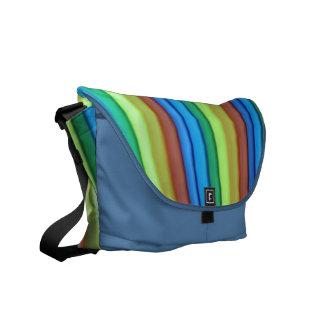 Bote-Tasche des Regenbogen-Kunst-Medium-null Kuriertasche