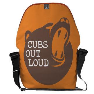 Bote-Tasche Spalten-Logo-V3 Kuriertasche