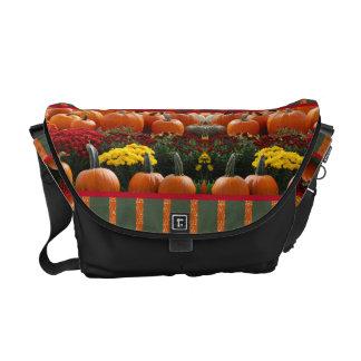 Bote-Taschen-Ernte-Herbst-Kürbisorange Kuriertaschen