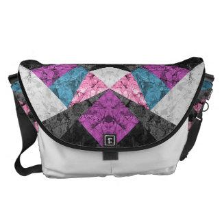 Bote-Taschen-Marmor-geometrischer Hintergrund G438 Kurier Taschen