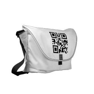 Botetasche (QR Code auf Front) Kurier Tasche