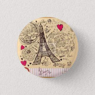 Boton Paris Runder Button 3,2 Cm