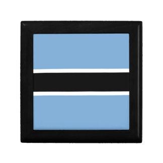 Botswana-Flagge Erinnerungskiste