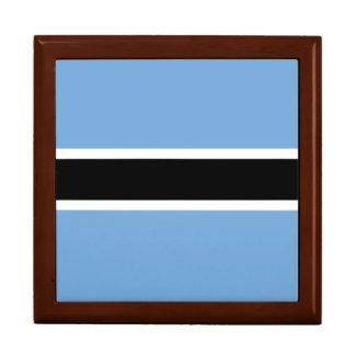 Botswana-Flagge Geschenkbox
