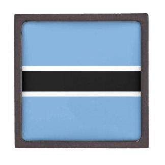 Botswana-Flagge Kiste