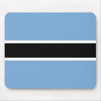 Botswana-Flagge Mousepad