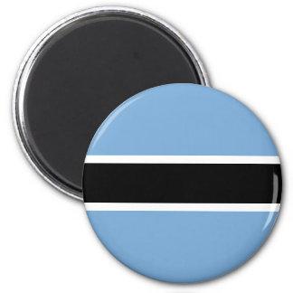 Botswana-Flagge Runder Magnet 5,1 Cm