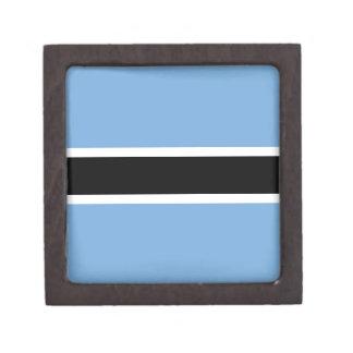 Botswana-Flagge Schachtel