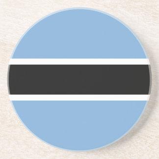 Botswana-Flagge Untersetzer