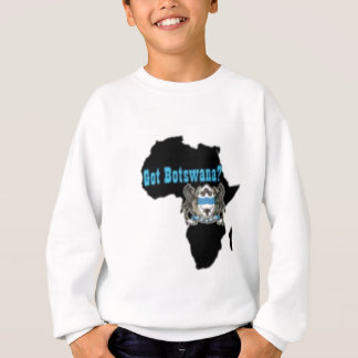 Botswana-Flaggen-T - Shirt u. usw.