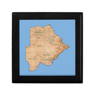 Botswana-Karten-Geschenkboxen Schmuckschachtel