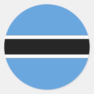 Botswana Runder Aufkleber