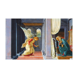 Botticelli die Ankündigung Leinwanddruck