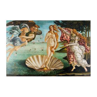 BOTTICELLI - Die Geburt von Venus 1483 Acryl Wandkunst