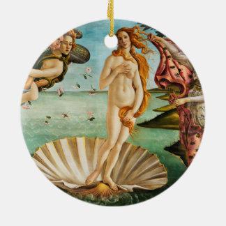 BOTTICELLI - Die Geburt von Venus 1483 Keramik Ornament