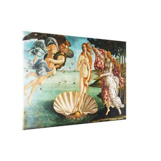 BOTTICELLI-, die Geburt von Venus 1483 Leinwanddruck