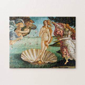 BOTTICELLI - Die Geburt von Venus 1483 Puzzle