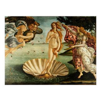 Botticelli Geburt der Poster