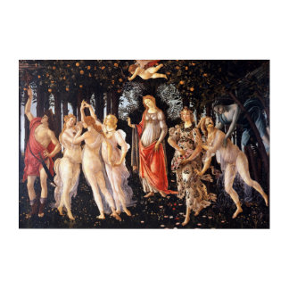 BOTTICELLI - Primavera 1482 Acryldruck