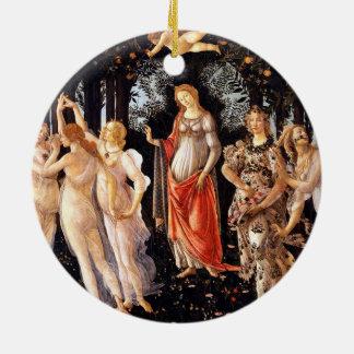 BOTTICELLI - Primavera 1482 Keramik Ornament