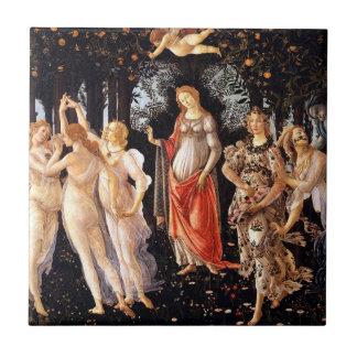 BOTTICELLI - Primavera 1482 Keramikfliese
