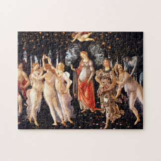 BOTTICELLI - Primavera 1482 Puzzle