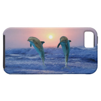 Bottlenose-Delphin am Sonnenaufgang iPhone 5 Cover