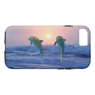 Bottlenose-Delphin am Sonnenaufgang iPhone 8/7 Hülle
