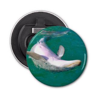 Bottlenose-Delphin umgedreht Flaschenöffner