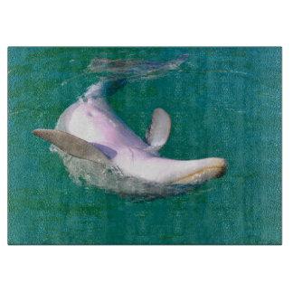Bottlenose-Delphin umgedreht Schneidebrett
