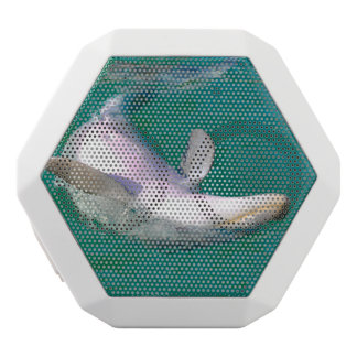 Bottlenose-Delphin umgedreht Weiße Bluetooth Lautsprecher