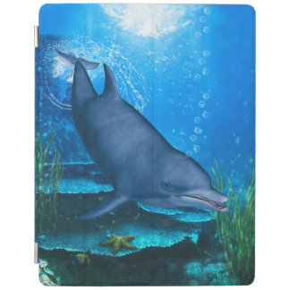 Bottlenose-Delphin Unterwasser iPad Smart Cover