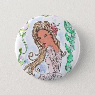 Bottons Jugendstil Runder Button 5,1 Cm