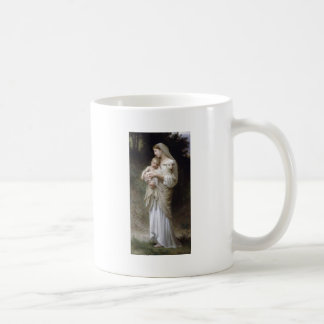 Bouguereau Unschulds-Dame Child Lamb Kaffeetasse