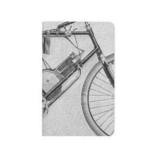 Bouilly Motorrad, 1895 Taschennotizbuch