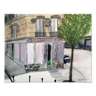 Boulangerie Paris Foto-Druck Fotodruck