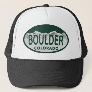 Boulder-Lizenzoval Truckerkappe