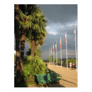 Boulevard der Pyrenäen Postkarte