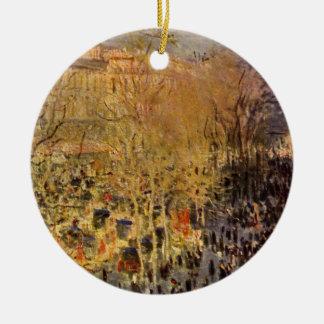 Boulevard-DES Capucines durch Claude Monet, schöne Keramik Ornament