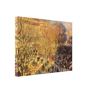 Boulevard-DES Capucines durch Claude Monet, schöne Leinwanddruck