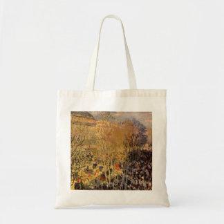 Boulevard-DES Capucines durch Claude Monet, schöne Tragetasche