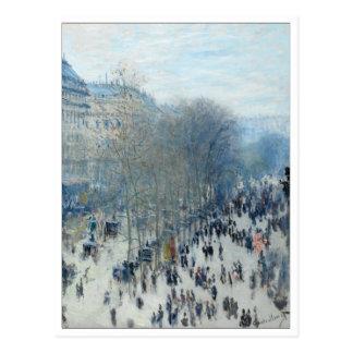 Boulevard-DES Capucines durch Monet Postkarte