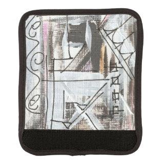 Boulevard-Hand gemalte abstrakte Brushstrokes Gepäckgriff Marker