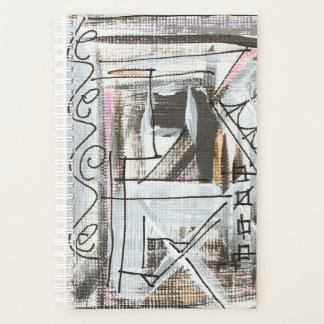 Boulevard-Hand gemalte abstrakte Kunst Planer