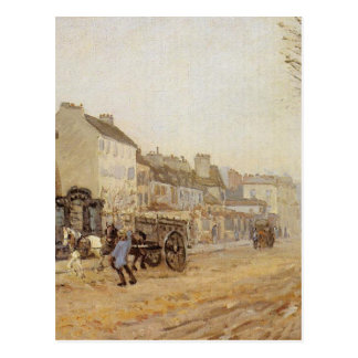 Boulevard Heloise, Argenteuil durch Alfred Sisley Postkarte