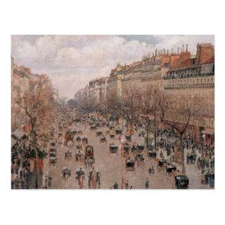 Boulevard Montmartre Postkarte