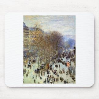 Boulevard von Capucines durch Claude Monet Mousepads