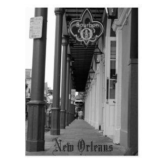 Bourbon-Straße Postkarte